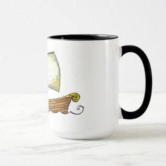 Caneca de café do navio de navigação dos