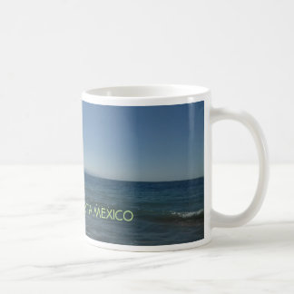 Caneca de café do oceano de Puerto Vallarta México
