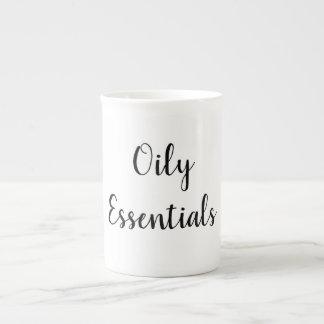 Caneca de café do óleo essencial