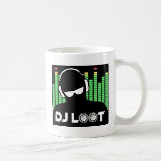 Caneca de café do pilhagem do DJ