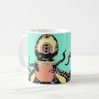 Caneca de café do polvo