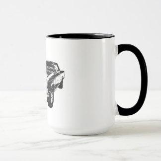 Caneca de café do preto 1965 GTO