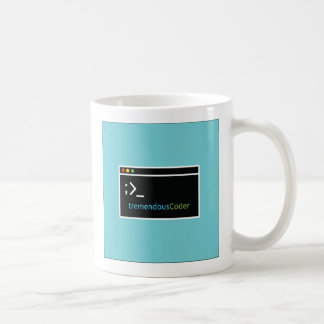 Caneca de café do programador ou do codificador