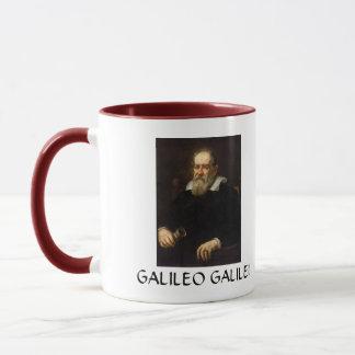 Caneca de café do retrato de Galileo Galilei