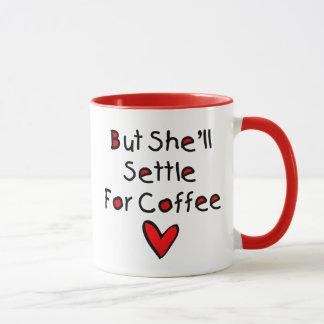 Caneca de café do sono das necessidades das mamães