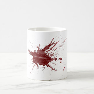 "Caneca De Café Do ""Splatter sangue """