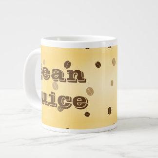 Caneca de café do suco do feijão
