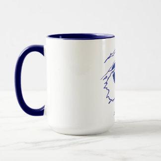 Caneca de café do super-herói de CFHV