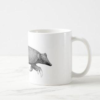Caneca de café do tatu