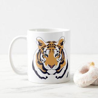Caneca de café do tigre