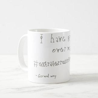 Caneca de café do Tweet de Gerard Way