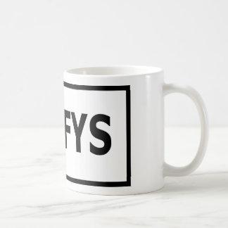 Caneca de café do #TYFYS