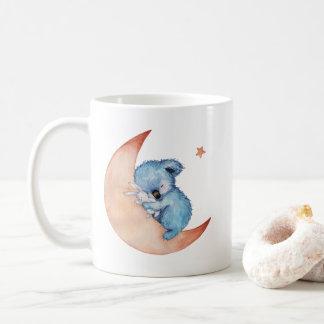 Caneca de café do urso de Koala do sono