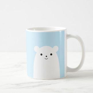 Caneca de café do urso polar do Peekaboo