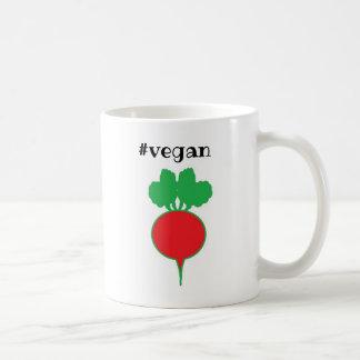 Caneca de café do Vegan com beterraba