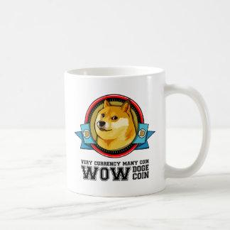 Caneca De Café Doge Meme Dogecoin wow