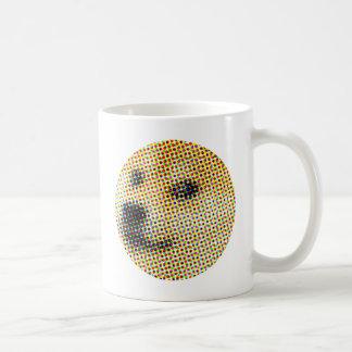 Caneca De Café Doge mínimo/abstrato