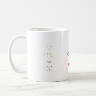 Caneca De Café Dois corações da rede