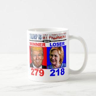 Caneca De Café Donald Trump é meu presidente