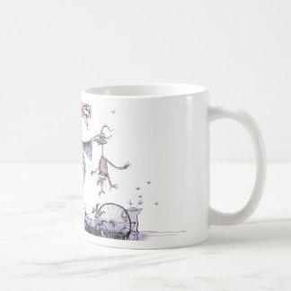 Caneca De Café doninha das mães do ol de yorkshire do amor