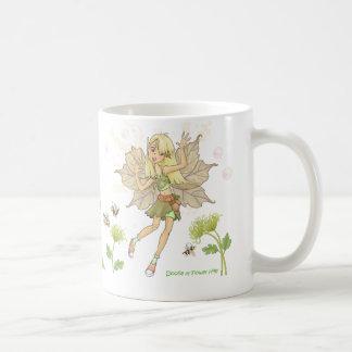 Caneca De Café Doolie de colinas da flor