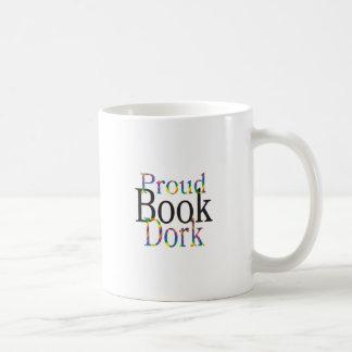 Caneca De Café Dork orgulhoso do livro