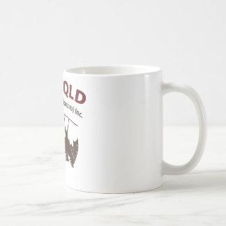 Caneca de café dos bastões QLD