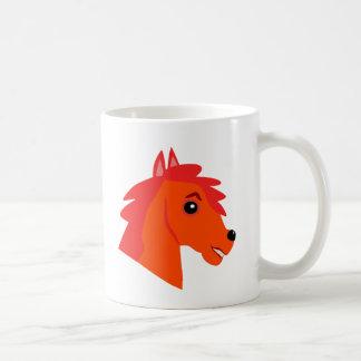 Caneca de café dos cavalos-força