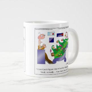 Caneca de café dos desenhos animados de CAIR-UPS