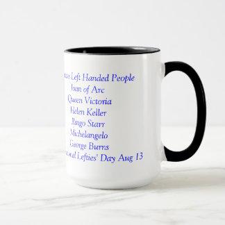 Caneca de café dos esquerdista somente