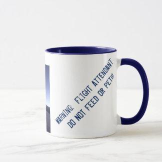 Caneca de café dos hospedeiros de bordo