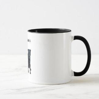 Caneca de café dos objetivos de BFF