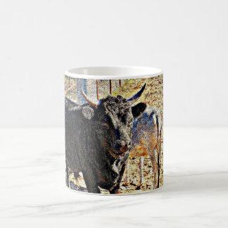 Caneca de café dos touros de Sonoran