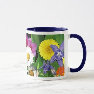 Caneca de café dos Wildflowers