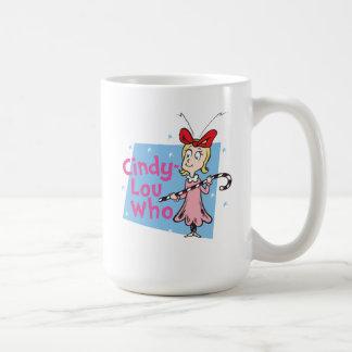 Caneca De Café Dr. Seuss | Cindy-Lou que - bastão de doces