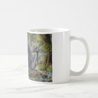 Caneca De Café Dragão da floresta - por Marc-André Huot