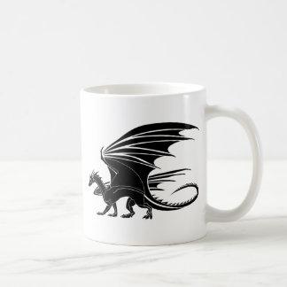 Caneca De Café Dragão irritado