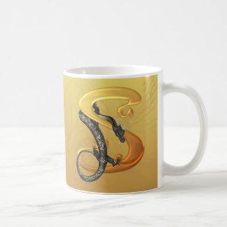 Caneca De Café Dragonlore S inicial