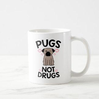 Caneca De Café Drogas dos Pugs não