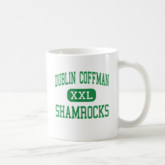 Caneca De Café Dublin Coffman - trevos - alto - Dublin Ohio