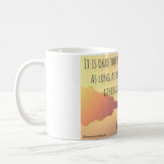 Caneca De Café É aprovado não ser aprovado. Não dê acima