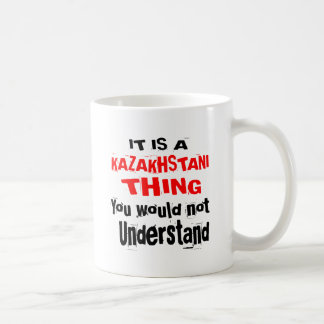 CANECA DE CAFÉ É DESIGN DA COISA DE KAZAKHSTANI