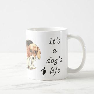 Caneca De Café É slogan bonito engraçado da arte do cão do
