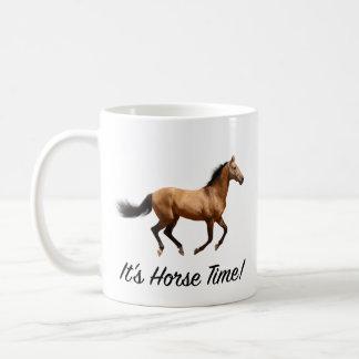 Caneca De Café É tempo do cavalo