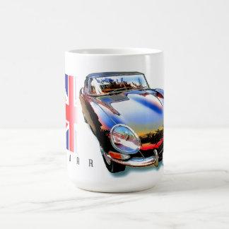 Caneca De Café E-tipo xke de Jaguar
