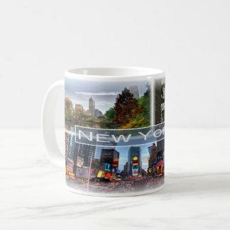 Caneca De Café E.U. EUA - New York -