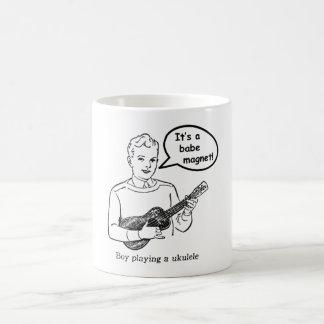 Caneca De Café É um ímã do borracho! (Ukulele)