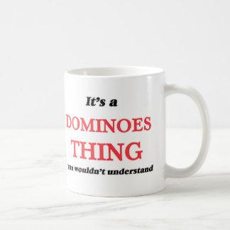 Caneca De Café É uma coisa dos dominós, você não compreenderia