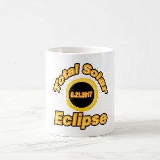 Caneca De Café Eclipse solar total v2