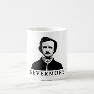 Caneca De Café Edgar Allan Poe - nunca mais